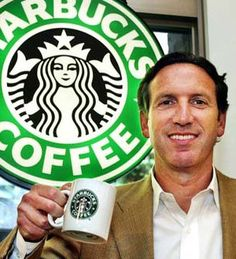 Howard-Shultz-Starbucks-Billionaire-CEO #inspiration