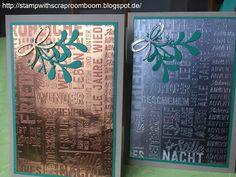 Stampin mit Scraproomboom - Stampin' Up! - Weihnachtspotpourri, Tannen und Zapfen