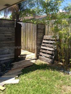 IMG 0344 600x800 Pallet Walkways in pallet garden pallet outdoor project  with Pallets Garden