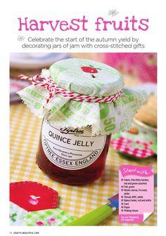 Decorating Jars of Jam