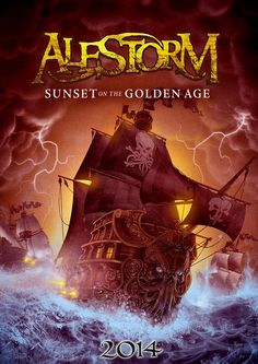 Alestorm Sunset of the golden age