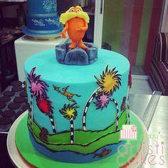 lorax cakes | Dr. Seuss's The Lorax Cake