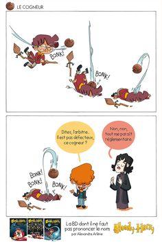 Bloody Harry - la BD à Poudlard Ginny Weasley, Harry Potter Parody, Jokes, Lol, Comics, Saga, Movie Posters, Funny Comics, Hogwarts
