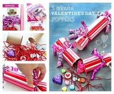 Party Poppers | 40 DIY Valentine's Day Gifts They'll Actually Want