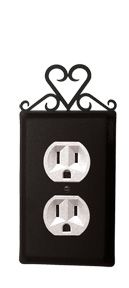 Heart Outlet Cover
