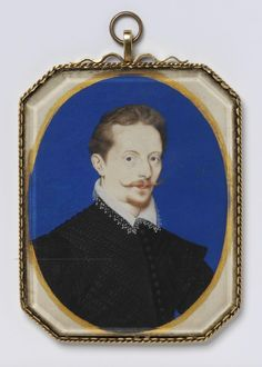 Oliver, Isaac A Man, called Sir Arundel Talbot 1596 Tudor History, Art History, Miniature Portraits, Miniature Paintings, Tudor Dynasty, Renaissance Artists, Historical Art, Victoria And Albert Museum, Watercolor Techniques