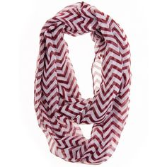 Amazon.com: Cotton Cantina Soft Chevron Sheer Infinity Scarf... ($4.35) ❤ liked on Polyvore featuring accessories, scarves, white shawl, cotton infinity scarf, sheer shawl, infinity scarves and cotton scarves