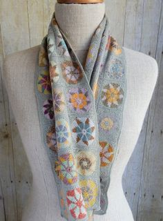 """""""Dreydel"""" small scarf by Sophie Digard"""