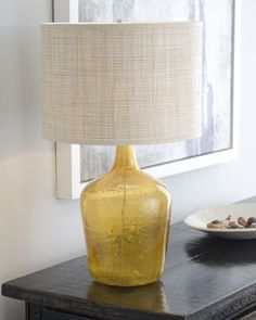 """""""Amber Plum Jar"""" Lamp by Jamie Young at Horchow."""