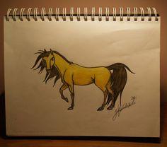 How to Draw Spirit Stallion of the Cimarron | Spirit Stallion of the Cimarron by CanvasJewel on deviantART