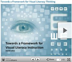 Towards a Framework for Visual Literacy Learning - David Jakes