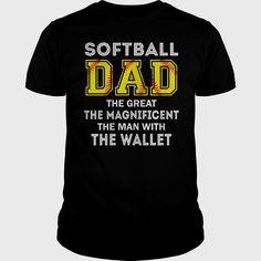 Funny Softball Shirts, Softball Memes, Softball Cheers, Funny Dad Shirts, Baseball Mom Shirts, Girls Softball, Fastpitch Softball, Dad To Be Shirts, Sports Shirts