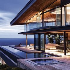 """""""Majestic Oceanfront Estate designed by the famous ©SAOTA located in Knysna, South Africa! 