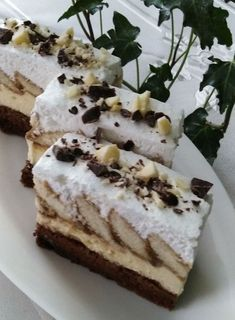 Czech Recipes, Ethnic Recipes, Tiramisu, Cheesecake, Deserts, Food And Drink, Treats, Sweet, Bakken
