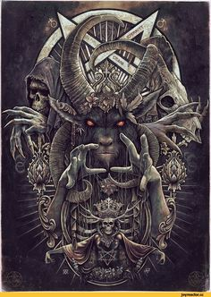 Christopher Lovell,Мрачные картинки,красивые картинки,бафомет,Dark Fortress - Baphomet,Music&Atmosphere,фэндомы,metal,Metal,Black Metal