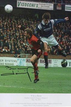 Brian Laudrup 1997. The goal that gave us 9 Ina row