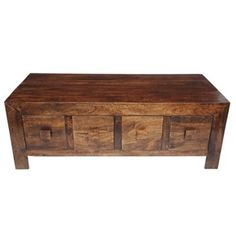 Mango wood eight drawer coffee table at debenhams.com. Currently L325 (half off)