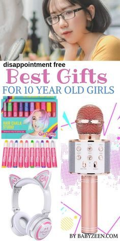 Best Gifts for 10 Year Old Girls: 2019 Roundup -What are the best gifts for 10 year old girls in Here you will find the most popular fun gift ideas for your girl [DISAPPOINTMENT FREE]. Christmas Gifts For 10 Year Olds, 10 Year Old Gifts, Christmas Wishes, Christmas Stocking, Bday Girl, Daughter Birthday, Birthday Gifts For Girls, Birthday Presents, 10 Years Girl