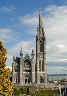 Cobh Cathedral - Cobh, Ireland...I wonder if my ancestors stopped in to pray before setting off for New York from Cobh.