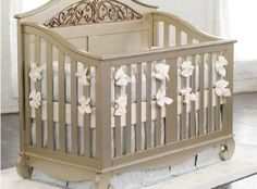 Chelsea Lifetime Crib In Antique Silver and Luxury Baby Cribs in Baby Furniture Crib Sets For Boys, Baby Crib Sets, Kids Bedding Sets, Baby Cribs, Baby Furniture Stores, Bed Furniture, Nursery Furniture, Nursery Crib, Girl Nursery