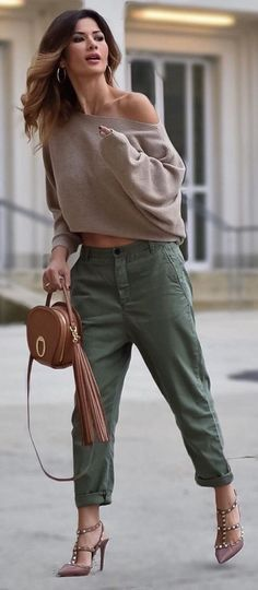Easy And Casual Spring Outfits Ideas 32