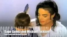 "Behind the Scenes of ""Black or White"" - Sage with Michael Jackson - YouTube"