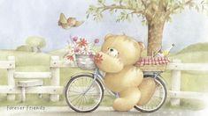 Мишки Forever Friends: Летние обои - YouLoveIt.ru