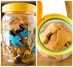 Beef and Cheddar Dog Treats - make healthy treats for your puppies!