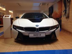White is the New Black. BMW i8.