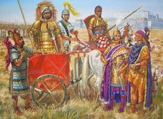 The Stream of Time: The Minoans: Their Polity Aegean (Achaean, Mycenaean or Minoan) chariot riding slave holding nobility, called maryannu in Mesopotamian culture