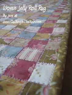 Moda Bake Shop: Woven Jelly Roll Rug