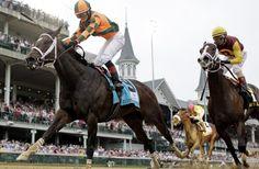 !!!! Female jockey wins the Kentucky Oaks!!