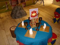 """Photo 1 of 9: king arthur's knights / Birthday """"Martin's round table"""" 