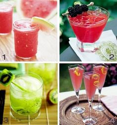 Simply Unique's Blog: SIGNATURE DRINKS FRIDAY!