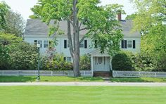 """Stately In East Hampton Village"" Hamptons Real Estate"