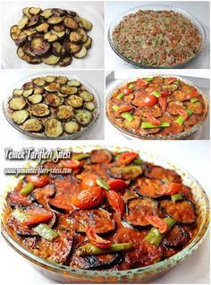 Patlıcan Musakka Tarifi – Sebze yemekleri – The Most Practical and Easy Recipes Turkish Recipes, Greek Recipes, Meat Recipes, Italian Recipes, Cooking Recipes, Healthy Recipes, Musaka, Eggplant Recipes, Eggplant Moussaka