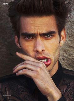 "Jon Kortajarena for L'Officiel Hommes ""Silent Valley"" (video directed by Monroe Alvarez)"