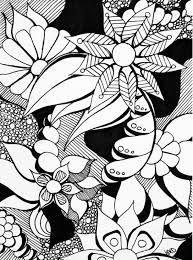 Bildergebnis für doodle art flowers