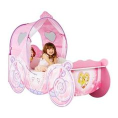 DISNEY PRINCESSES Lit Carrosse Enfant Hello Home - Achat / Vente structure de lit - Cdiscount