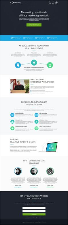 Massketing is a clean and modern #Instapage #landingpage #template with ultimate design and layout download now➩ https://themeforest.net/item/massketing-instapage-landing-page-template/18512018?ref=Datasata