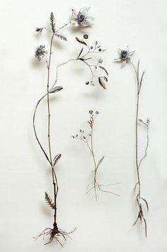 Flower construction #46 (w:100 h:60 d:6.5 cm)