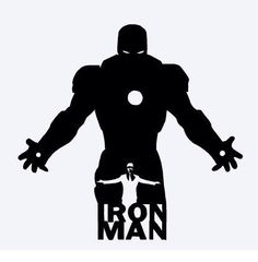 Iron man Silhouette Art, Silhouette Cameo Projects, Disney Fantasy, Stencil Art, Stencils, Marvel Dc, Marvel Drawings, Marvel Wallpaper, Comic Character