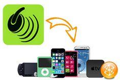 Musik für Geräte konvertieren