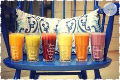 Juicy summer @ Staudigls Saftbar :-) Organic Recipes, Red Bull, Energy Drinks, Grapefruit, Juice, Beverages, Vegetarian, Canning, Healthy