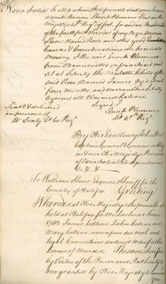 """Certificate of manumission for 'James', a four month old """"mulatto child"""""""