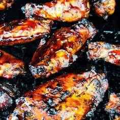 Huli Huli Sauce, Huli Huli Chicken, Asian Chicken Wings, Smoked Chicken Wings, Harissa Chicken, Tandoori Chicken, Smoked Wings, Hawaiian Dishes, Grilling Recipes