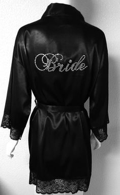 Bride Robe. Bridesmaid Robe. Bachelorette Party. by JWBridalShop, $41.00