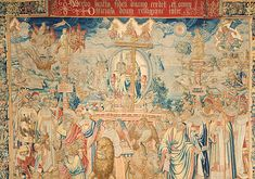 Eternal Virtue: The Triumph of Faith in the Tapestry Gallery   Biltmore
