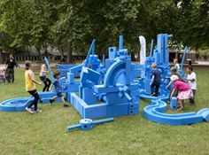 Getting some pop-up 'Imagination Playgrounds' in Adelaide- cool!