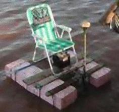 Cheep Pontoon Fishing Boat